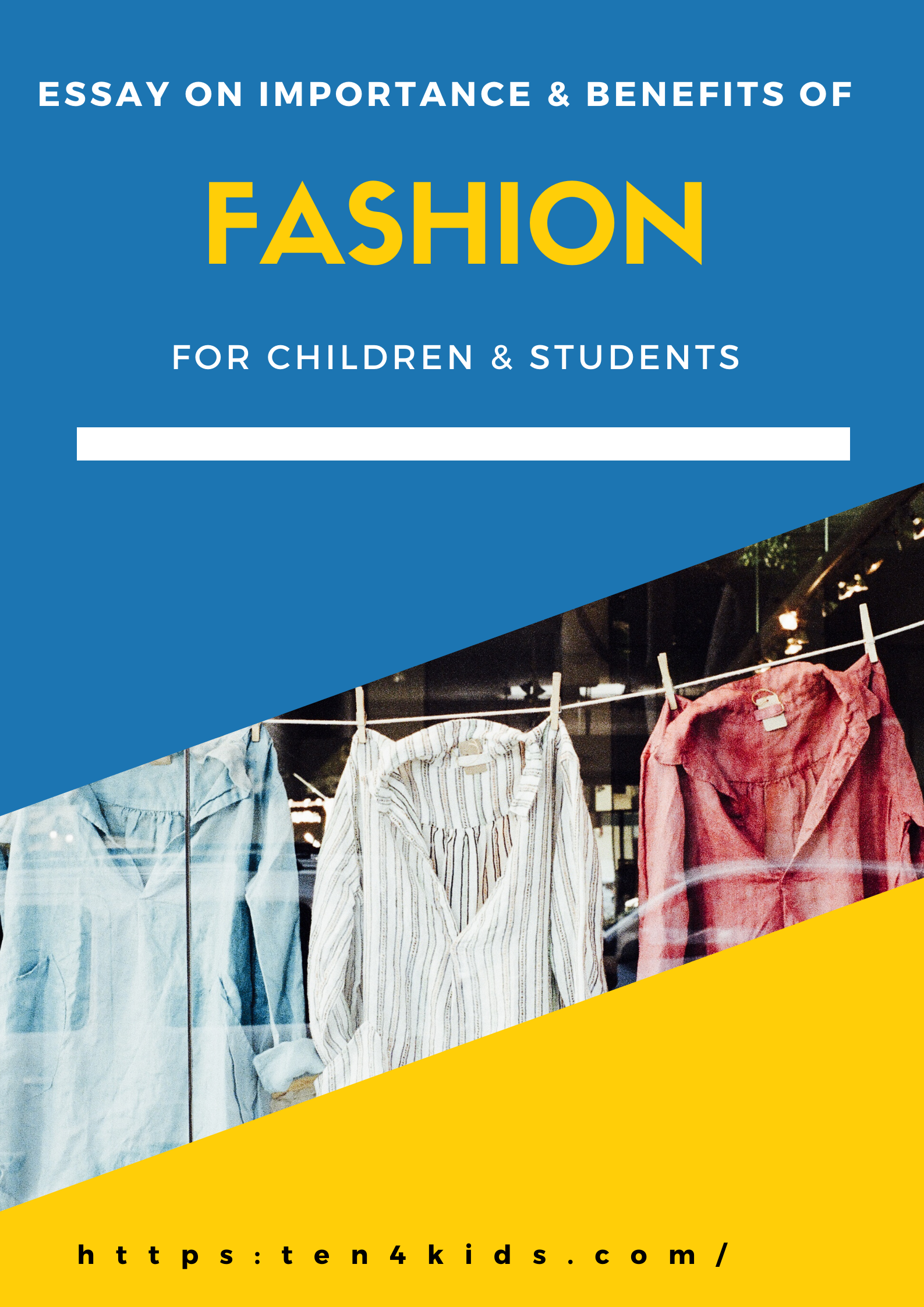 Essay on Fashion For Students