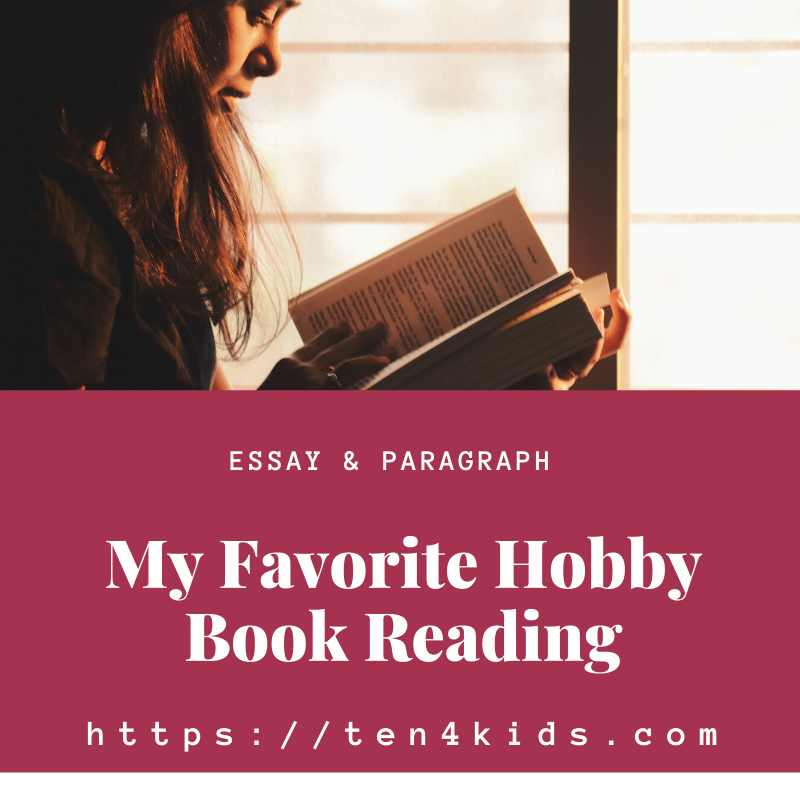 Essay on My Favorite Hobby Book Reading